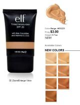 E.LF Tinted Moisturizer – REVIEW