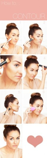 Lauren Conrad tip on HOW TO contour your face!