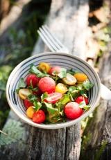 Refreshing Watermelon/Tomato Salad