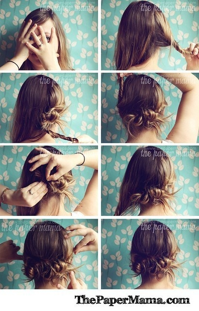 Beautiful Quick And Easy Hairstyles  Quick And Easy 2014 Hairstyles