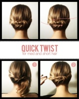 Pinterest quick and easy hairstyles?