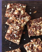 Martha Stewart Salted Toffee Chocolate Squares!