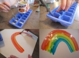 Pinterest fun project alert! (great for kids)